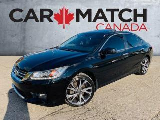 Used 2014 Honda Accord TOURING / LEATHER / SUNROOF for sale in Cambridge, ON