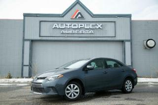 Used 2016 Toyota Corolla LE CVT for sale in Calgary, AB