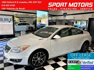 Used 2017 Buick Regal Sport Touring+Apple Play+New Tires+ACCIDENT FREE for sale in London, ON