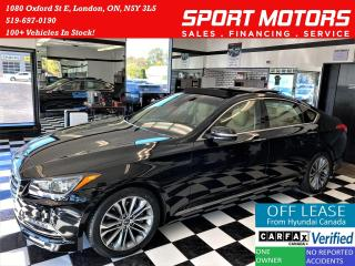 Used 2015 Hyundai Genesis Technology+Adaptive Cruise+New Tires+ACCIDENT FREE for sale in London, ON