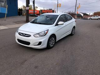 Used 2013 Hyundai Accent GL AUTO BLUETOOTH HTDSEATS CERTIFIED for sale in Toronto, ON