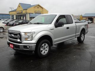 Used 2016 Ford F-150 XLT SuperCab 4x4 5.0L 6.5ft Box BackUpCam for sale in Brantford, ON