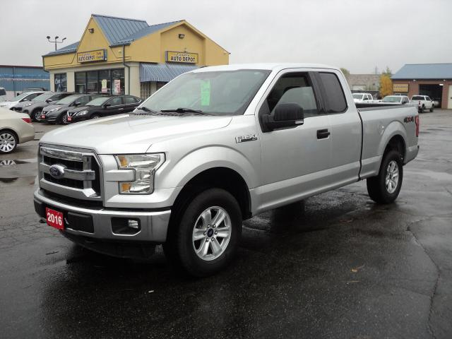 2016 Ford F-150 XLT SuperCab 4x4 5.0L 6.5ft Box BackUpCam