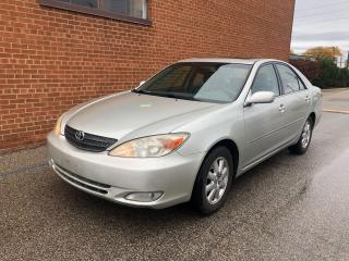 Used 2002 Toyota Camry XLE/ V6/LEATHER/SUNROOF for sale in Oakville, ON