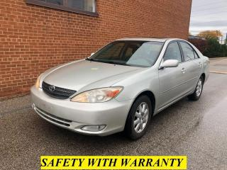 Used 2002 Toyota Camry XLE/ V6/LEATHER/SUNROOF/SAFETY AND WARRANTY for sale in Oakville, ON