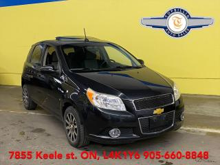 Used 2010 Chevrolet Aveo LT Sunroof, Auto, 2 Years Warranty for sale in Vaughan, ON