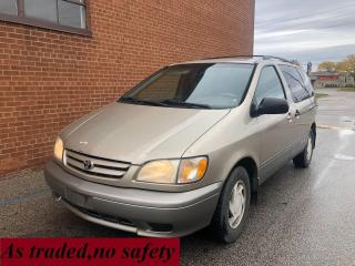 Used 2001 Toyota Sienna LE/7 PASSENGERS for sale in Oakville, ON