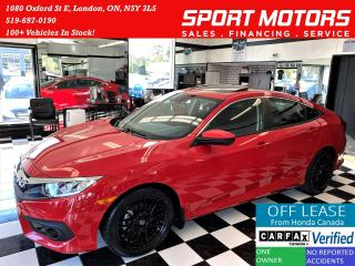 Used 2017 Honda Civic EX+Adaptive Cruise+New Tires+ROOF+ACCIDENT FREE for sale in London, ON