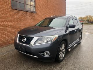 Used 2014 Nissan Pathfinder Platinum Premium Hybrid/7 PASSENGERS/DVD/NAVI/CAM for sale in Oakville, ON