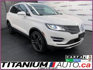 Used 2017 Lincoln MKC 2.3L Reserve+AWD+GPS+Pano Roof+Radar Cruise+BSM for sale in London, ON