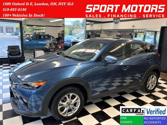 2019 Mazda CX-3 GS AWD+Roof+Blind Spot+Apple Play+ACCIDENT FREE