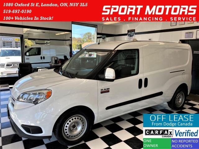 2016 RAM ProMaster SLT+Camera+New Tires+Keyless Entry+ACCIDENT FREE