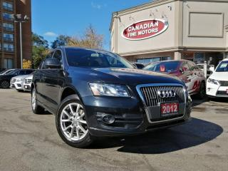 Used 2012 Audi Q5 CLEAN CARFAX - PROGRESSIVE - NAVI - CAM - PANO for sale in Scarborough, ON