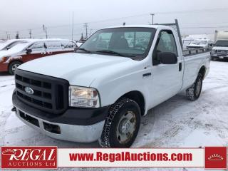 Used 2007 Ford F-250 SD XL REG CAB 2WD 5.4L for sale in Calgary, AB