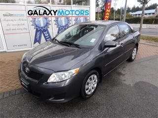 Used 2009 Toyota Corolla CE for sale in Nanaimo, BC
