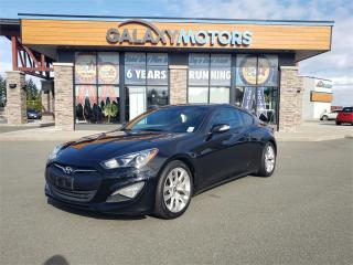 Used 2016 Hyundai Genesis Sedan Coupe 3.8 - Leather Interior, Navigation, Heated Front Seats for sale in Courtenay, BC