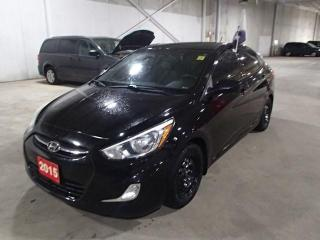 Used 2015 Hyundai Accent GLS AUTO *** FREE WINTER TIRES & RIMS INC!!! *** for sale in Nepean, ON