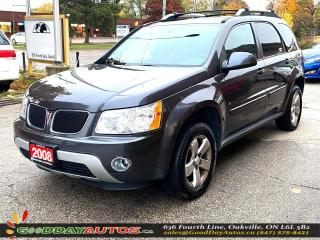 Used 2008 Pontiac Torrent GT|LOW KM|NO ACCIDENT|SUNROOF|AWD|CERTIFIED for sale in Oakville, ON
