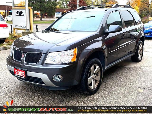 2008 Pontiac Torrent GT|LOW KM|NO ACCIDENT|SUNROOF|AWD|CERTIFIED