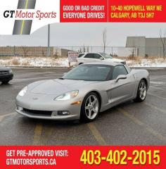 Used 2005 Chevrolet Corvette Z51 | $0 DOWN - EVERYONE APPROVED! for sale in Calgary, AB
