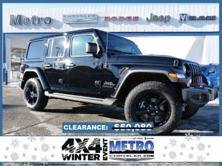New 2021 Jeep Wrangler Unlimited Sahara Altitude for sale in Ottawa, ON
