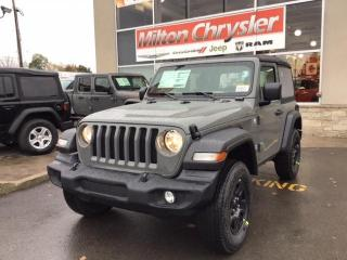 New 2021 Jeep Wrangler SPORT 4X4 / AIR COND. for sale in Milton, ON