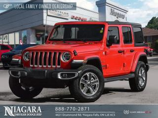 Used 2020 Jeep Wrangler Unlimited Sahara | LOCAL TRADE for sale in Niagara Falls, ON