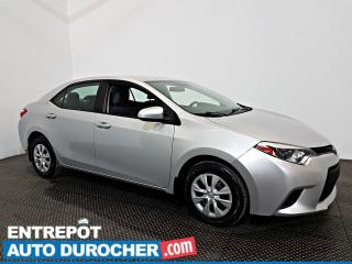 Used 2015 Toyota Corolla CE  Groupe Électrique - Prise AUX for sale in Laval, QC