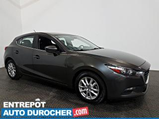 Used 2018 Mazda MAZDA3 Sport Automatique - A/C - SIÈGES ET VOLANT CHAUFFANTS for sale in Laval, QC