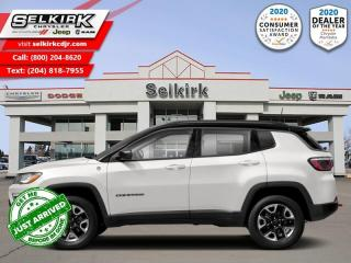 New 2021 Jeep Compass Trailhawk Elite - Sunroof for sale in Selkirk, MB