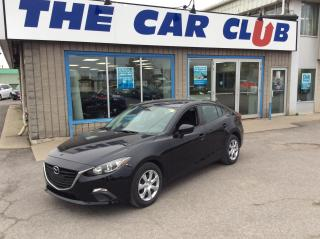 Used 2016 Mazda MAZDA3 6 SPEED MANUAL - A/C - NAVIGATION! for sale in Ottawa, ON