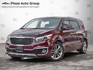 Used 2016 Kia Sedona SXL+ | LOADED | LEATHER | LOW MILEAGE for sale in Richmond Hill, ON