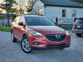 Used 2013 Mazda CX-9 NoAccidents GT Navi BckpCam Sunroof Leather HeatedSeat BOSE for sale in Sutton, ON