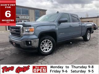 Used 2015 GMC Sierra 1500 SLE Z71 | Crew 5.3L 4x4 | Bedliner | Bluetooth | B for sale in St Catharines, ON