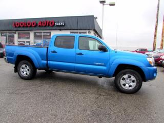 Used 2009 Toyota Tacoma Double Cab V6 4.0L 4WD SR5 AUTO CAMERA CERTIFIED for sale in Milton, ON