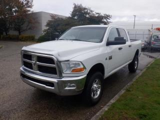 Used 2012 RAM 3500 SLT Crew Cab Diesel 4WD for sale in Burnaby, BC