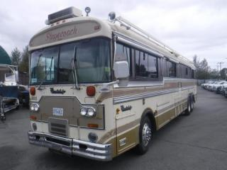 Used 1983 Blue Bird Wanderlodge PT 40 Foot Class A Diesel Motorhome Air Brakes for sale in Burnaby, BC