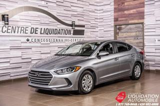 Used 2017 Hyundai Elantra LE+BLUETOOTH+SIEGE/CHAUFF+GR ELECT for sale in Laval, QC