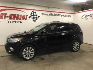 Used 2017 Ford Escape 4WD Titanium. NAVIGATION/ GPS, TOIT PANO for sale in St-Hubert, QC