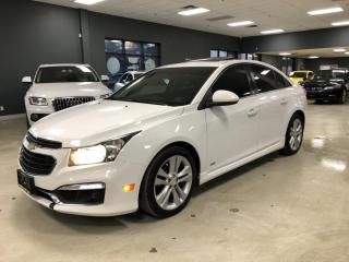 Used 2015 Chevrolet Cruze 2LT*RS PKG*BACK-UP CAMERA*LEATHER*SUNROOF*NO ACCID for sale in North York, ON