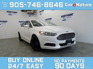 Used 2014 Ford Fusion SE | BLACK RIMS | SYNC |  NEW CAR TRADE for sale in Brantford, ON