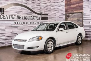 Used 2012 Chevrolet Impala LS+GR/ELECT+MAGS+CRUISE for sale in Laval, QC