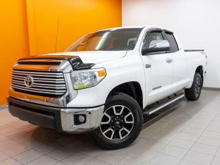 Used 2015 Toyota Tundra LIMITED 4X4 CAMÉRA SIÈGES CHAUFFANTS *CUIR* for sale in St-Jérôme, QC