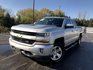 Used 2017 Chevrolet Silverado 1500 LT Crew Cab 4WD for sale in Cayuga, ON
