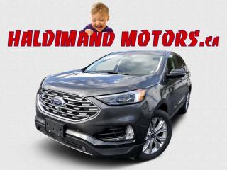 Used 2020 Ford Edge Titanium AWD for sale in Cayuga, ON