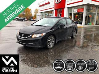 Used 2015 Honda Civic EX ** GARANTIE 10 ANS ** Conduite dynamique, et tellement fiable! for sale in Shawinigan, QC