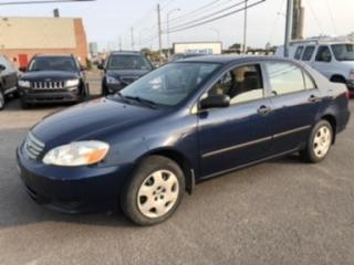 Used 2003 Toyota Corolla CE for sale in Mirabel, QC