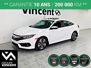 Used 2016 Honda Civic EX-T ** GARANTIE 10 ANS ** Beaucoup d'équipements à bas prix! for sale in Shawinigan, QC