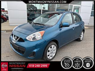 Used 2017 Nissan Micra SV à hayon 4 portes BA for sale in Montmagny, QC