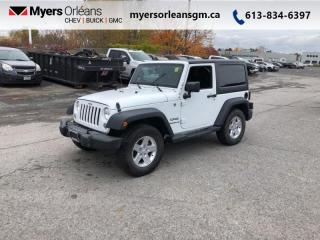 Used 2015 Jeep Wrangler SPORT  Hard and Soft tops! for sale in Orleans, ON